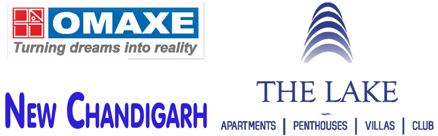omaxe the lake logo
